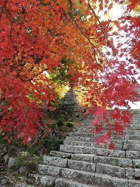 大山寺の紅葉_d0043390_22224725.jpg