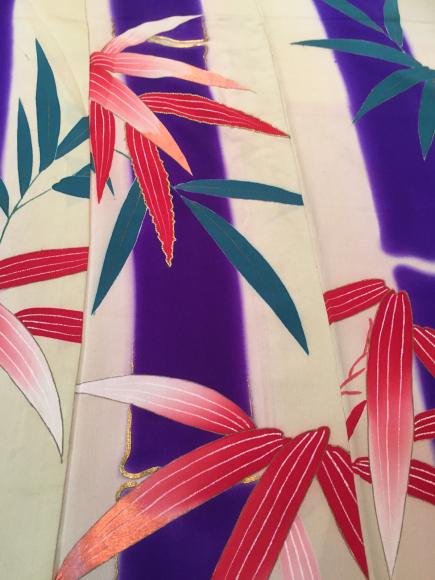「暮らし家×Ponia-pon in神楽坂DOUBLE MAISON」11/20より!竹笹着物×椿紅葉刺繍帯♪販売商品18_c0321302_20055819.jpg