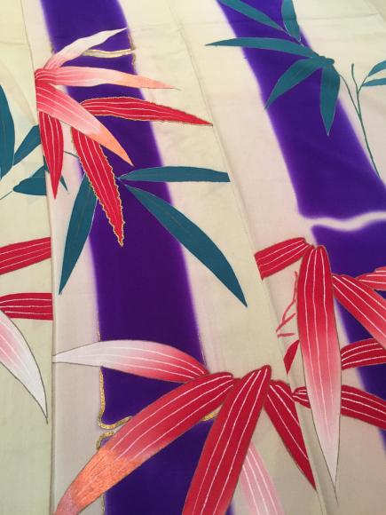 「暮らし家×Ponia-pon in神楽坂DOUBLE MAISON」11/20より!竹笹着物×椿紅葉刺繍帯♪販売商品18_c0321302_20062679.jpg