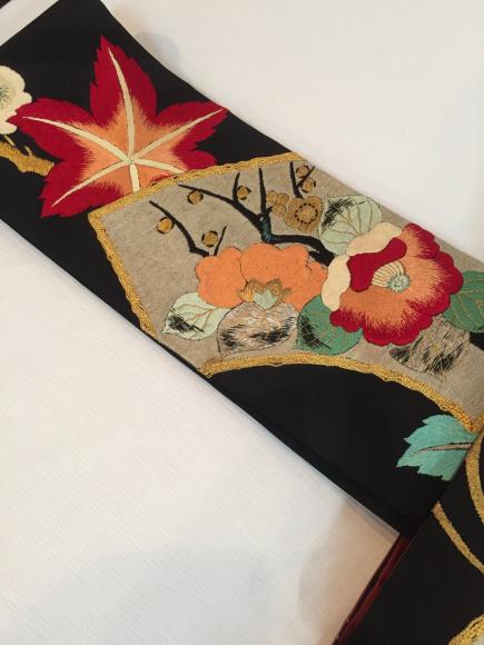 「暮らし家×Ponia-pon in神楽坂DOUBLE MAISON」11/20より!竹笹着物×椿紅葉刺繍帯♪販売商品18_c0321302_20071381.jpg