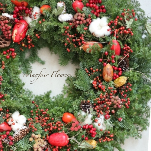 【募集】クリスマスリースレッスン♪_d0000304_22262869.jpeg