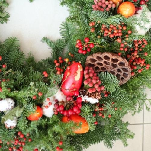 【募集】クリスマスリースレッスン♪_d0000304_22270628.jpeg