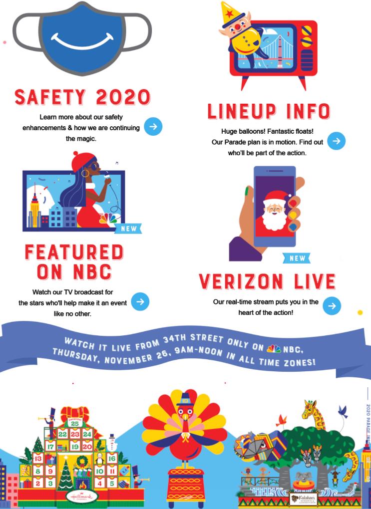 サンクスギビング・デー・パレード 2020はテレビとインターネットの中継で_b0007805_03155186.jpg