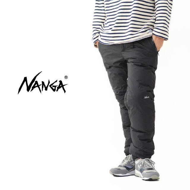 NANGA [ナンガ] M\'s AURORA DOWN PANTS [N1AP] オーロラダウンパンツ・ウインターアイテム・防寒・MEN\'S _f0051306_15381453.jpg