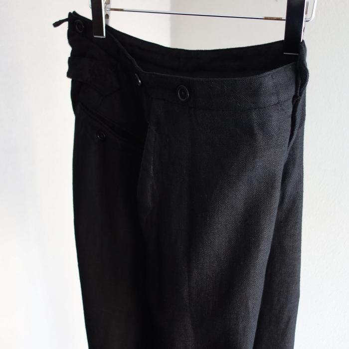 1月の製作 / classic heavylinen trousers_e0130546_12472917.jpg