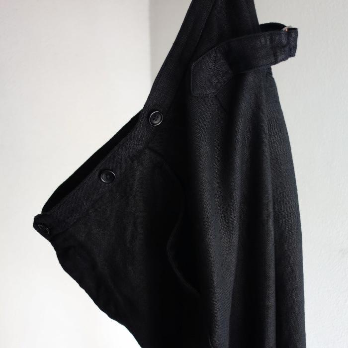 1月の製作 / classic heavylinen trousers_e0130546_12480099.jpg