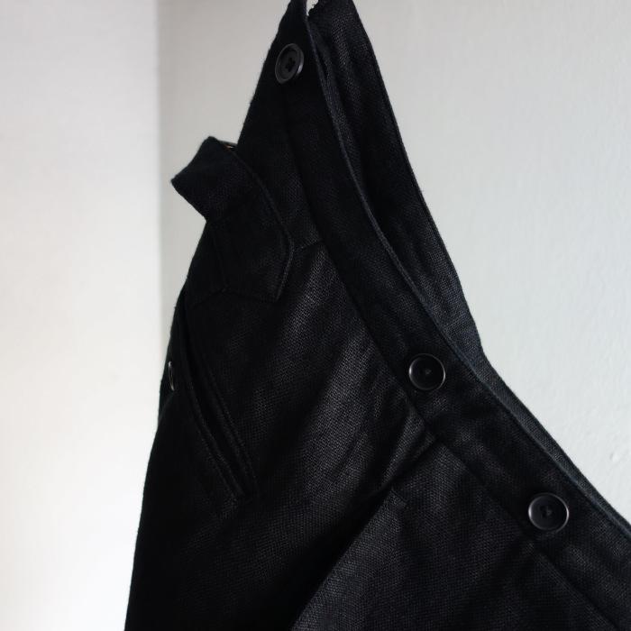 1月の製作 / classic heavylinen trousers_e0130546_12481776.jpg