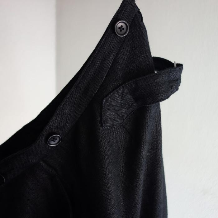 1月の製作 / classic heavylinen trousers_e0130546_12483689.jpg