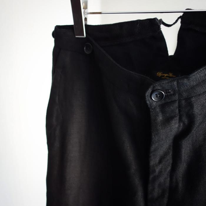 1月の製作 / classic heavylinen trousers_e0130546_12490006.jpg