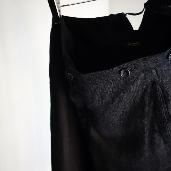 1月の製作 / classic heavylinen trousers_e0130546_12492343.jpg
