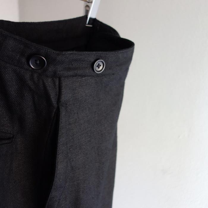 1月の製作 / classic heavylinen trousers_e0130546_12495883.jpg