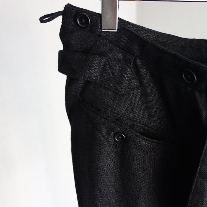 1月の製作 / classic heavylinen trousers_e0130546_12522600.jpg
