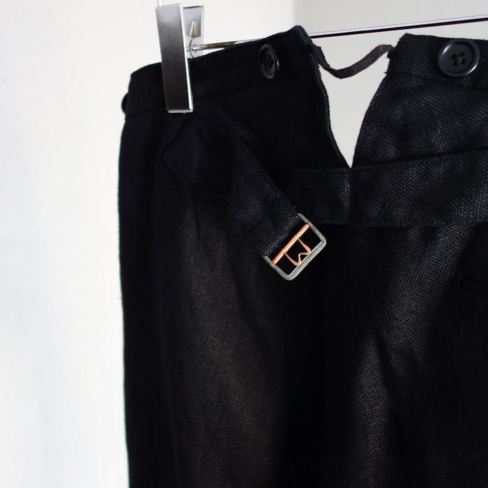 1月の製作 / classic heavylinen trousers_e0130546_12531561.jpg
