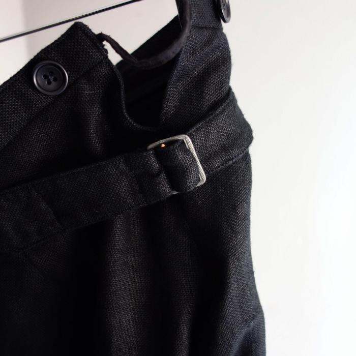 1月の製作 / classic heavylinen trousers_e0130546_12535227.jpg