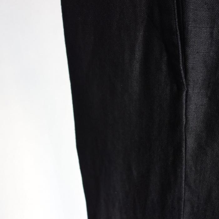 1月の製作 / classic heavylinen trousers_e0130546_12550264.jpg