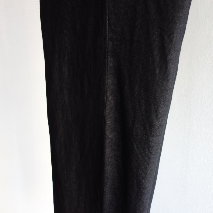 1月の製作 / classic heavylinen trousers_e0130546_12553409.jpg