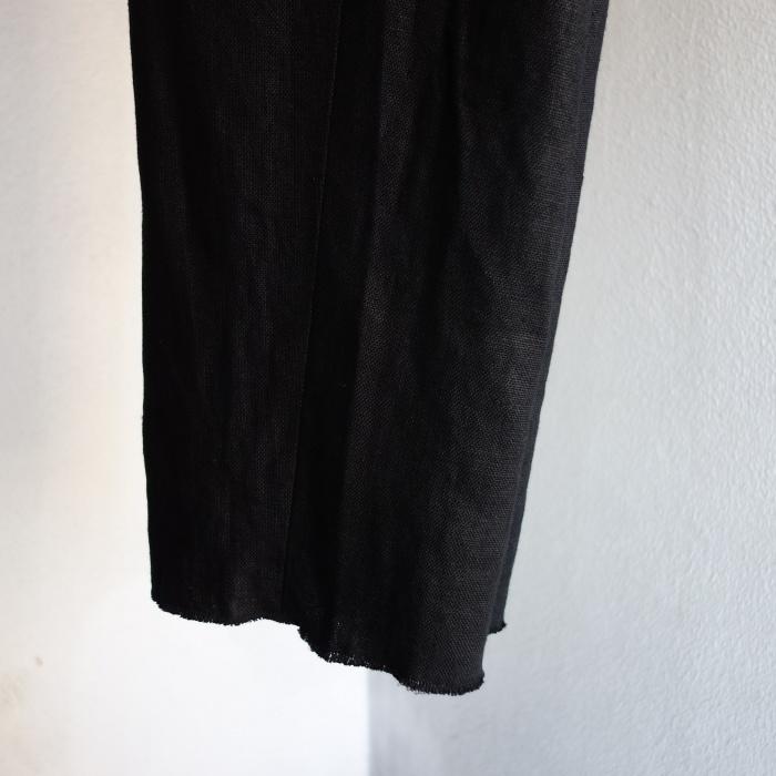 1月の製作 / classic heavylinen trousers_e0130546_12555089.jpg