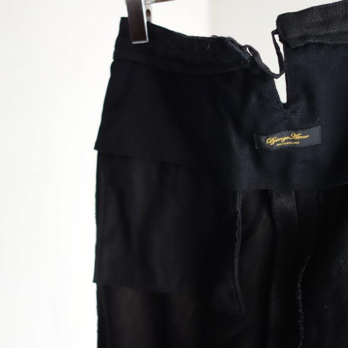 1月の製作 / classic heavylinen trousers_e0130546_12561470.jpg