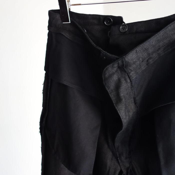1月の製作 / classic heavylinen trousers_e0130546_12563274.jpg