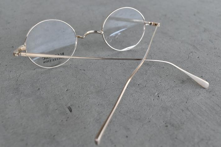 人生一度はかけたい丸メガネ! BJ classic PREM-120 NT_f0338654_14301412.jpg