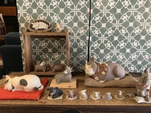 猫と干支の置物展 2020〜記録 4_d0336460_14443529.jpeg
