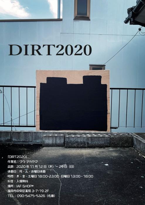 グウ ナカヤマ展覧会「DIRT2020」_f0190988_22473309.jpg