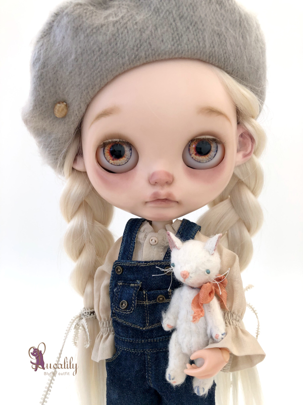 * lucalily * dolls clothes * Overalls set *_d0217189_19432677.jpeg