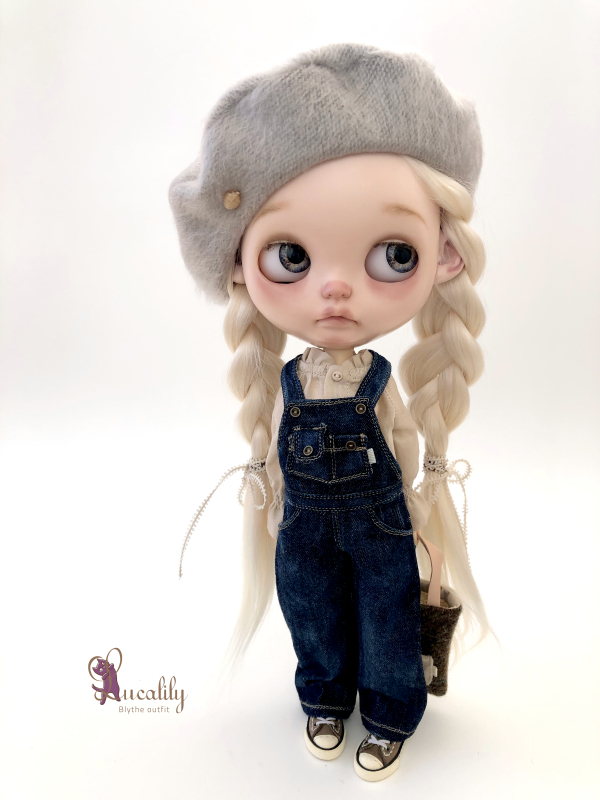 * lucalily * dolls clothes * Overalls set *_d0217189_19433085.jpeg