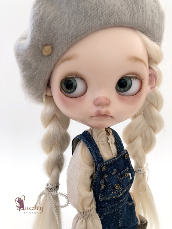 * lucalily * dolls clothes * Overalls set *_d0217189_19433460.jpeg