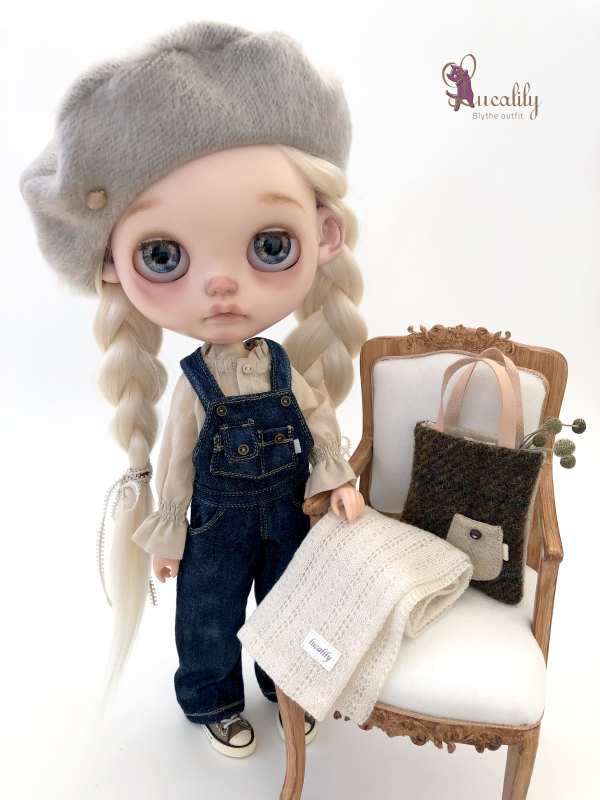 * lucalily * dolls clothes * Overalls set *_d0217189_19434123.jpeg