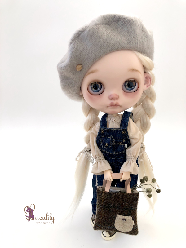 * lucalily * dolls clothes * Overalls set *_d0217189_19434481.jpeg
