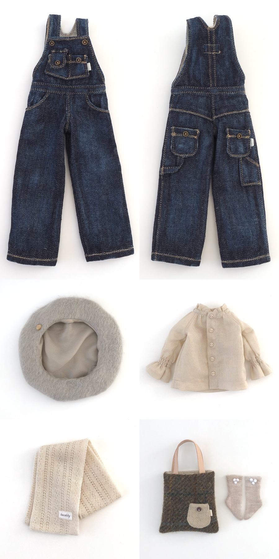 * lucalily * dolls clothes * Overalls set *_d0217189_19440706.jpg