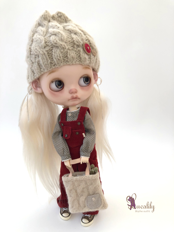 * lucalily * dolls clothes * Corduroy Overalls set *_d0217189_19460619.jpeg