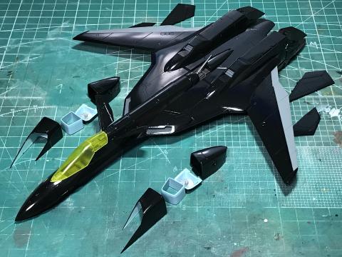 """ハセガワ 1/72 YF-19 \""""K-40 limited ver.\""""(完成)_b0055614_20025017.jpg"""