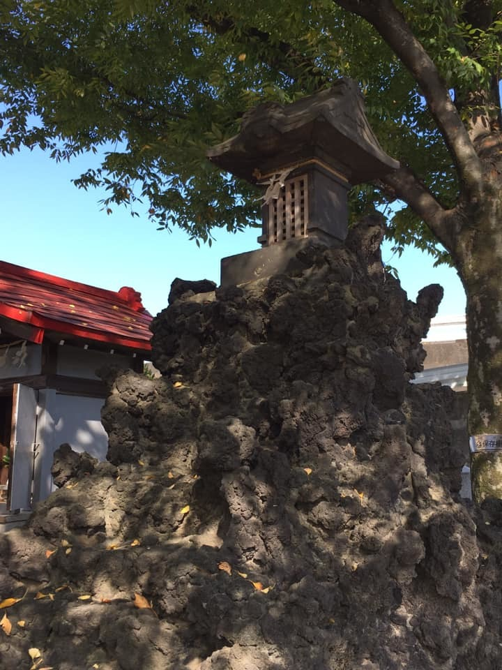 銀杏が色づく、宮城氷川神社の富士塚を訪問_c0060143_22470937.jpg