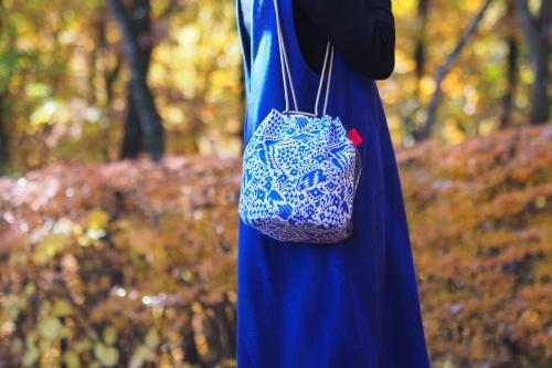 「kinchaku bag」いろんな素材で6タイプ_e0243765_22333093.jpg