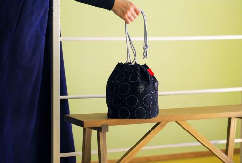 「kinchaku bag」いろんな素材で6タイプ_e0243765_22410190.jpg