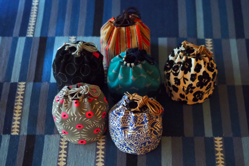 「kinchaku bag」いろんな素材で6タイプ_e0243765_22413839.jpg