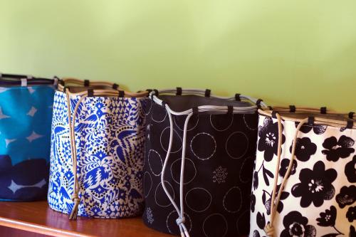 「kinchaku bag」いろんな素材で6タイプ_e0243765_22424330.jpg