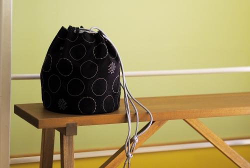 「kinchaku bag」いろんな素材で6タイプ_e0243765_23142401.jpg