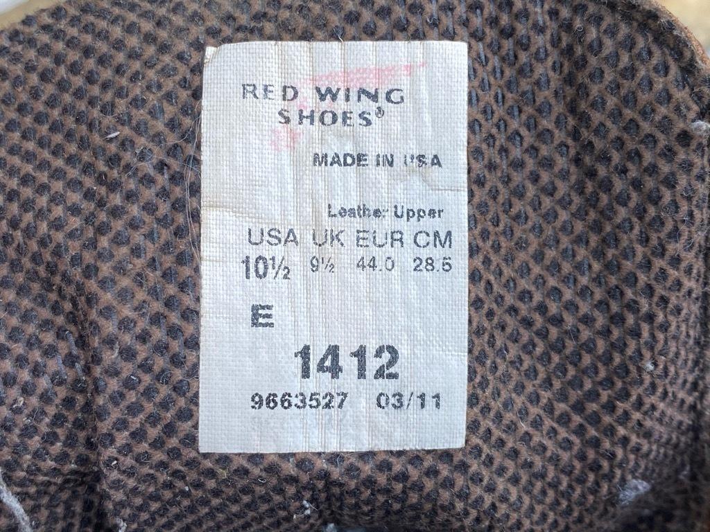 マグネッツ神戸店 11/21(土)Superior入荷! #5 RedWing Boots+Leather Shoes!!!_c0078587_15114634.jpg