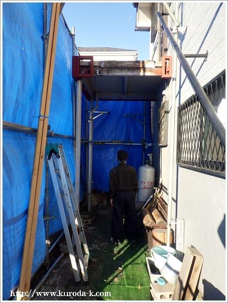 鉄骨の外階段解体・撤去工事! あきる野市I様邸_c0322812_19192903.jpg