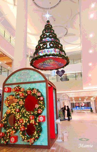 ショッピングセンターはクリスマスモード_d0387712_21172050.jpg