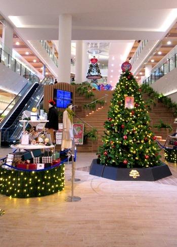 ショッピングセンターはクリスマスモード_d0387712_21172619.jpg
