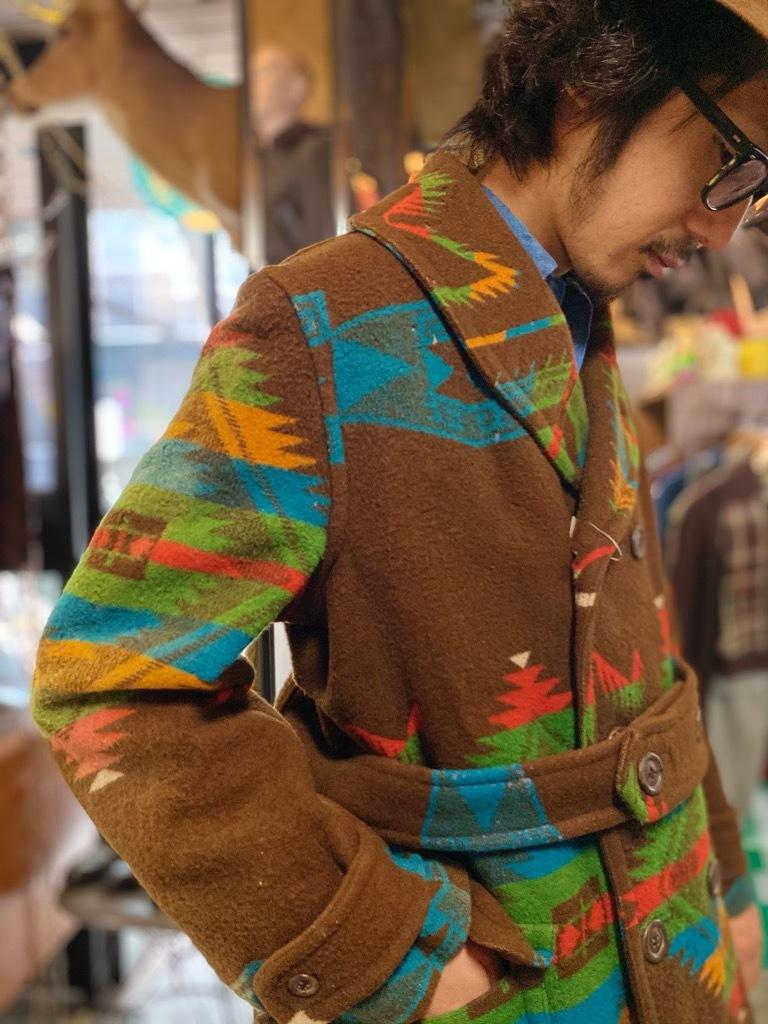 11月25日(水)マグネッツ大阪店Vintage入荷日!!#1 1930\'s BlanketMackinawCoat,CampBlanket!!_c0078587_13390750.jpg