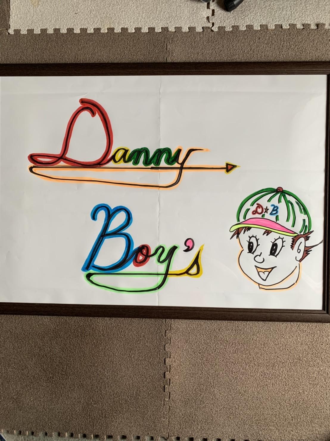 ダニーボーイズのロゴが出来ました🎵😄_e0119092_15333253.jpg