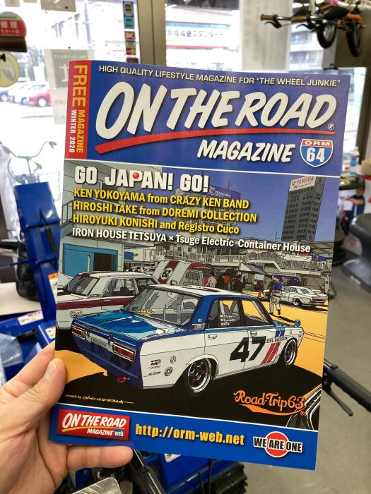 『 ONTHEROAD MAGAZINE Vol64 』が入荷致しました!_e0126901_09455603.jpg