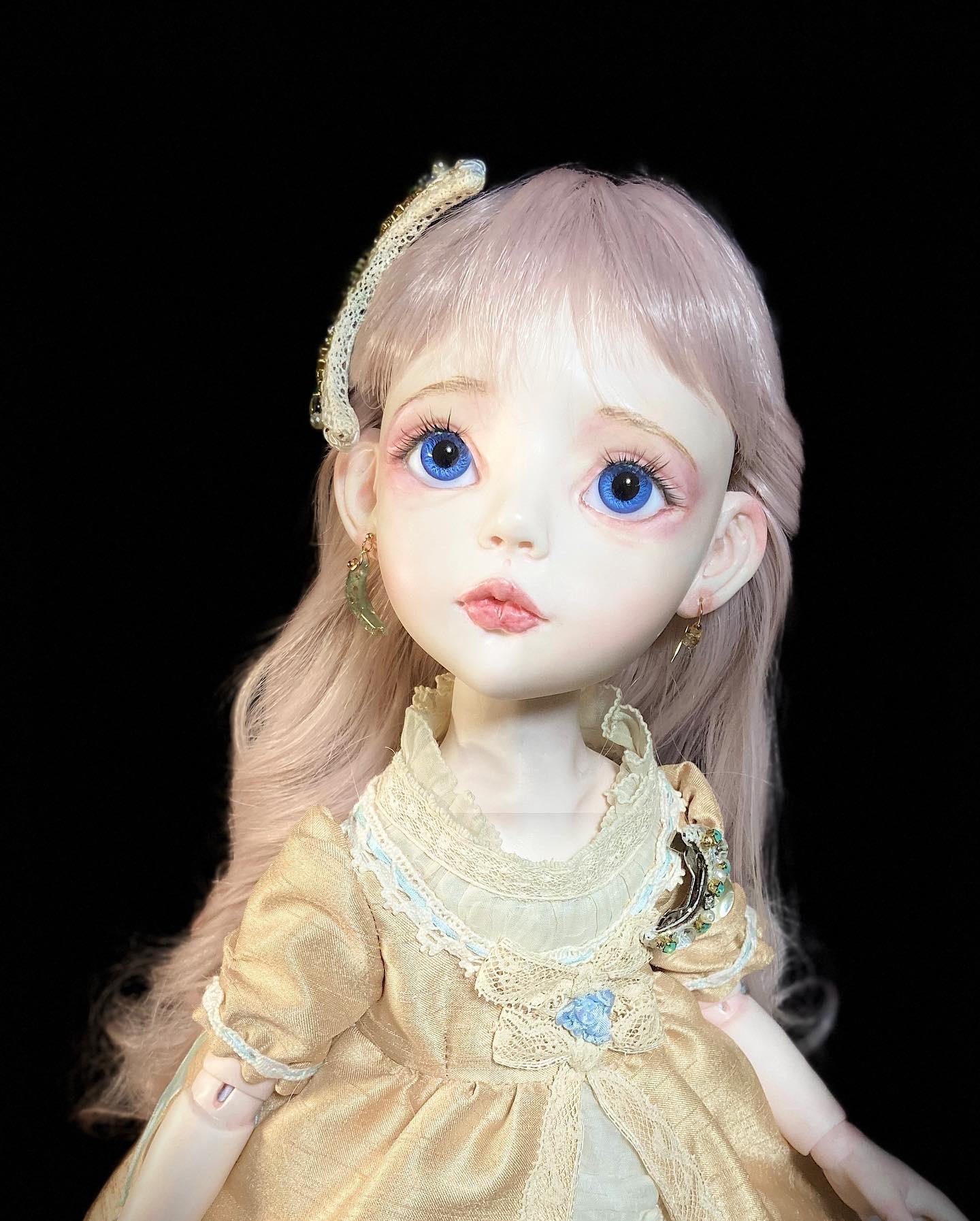 月姫ちゃんのアクセサリーとコート制作♪_b0162357_09532959.jpeg