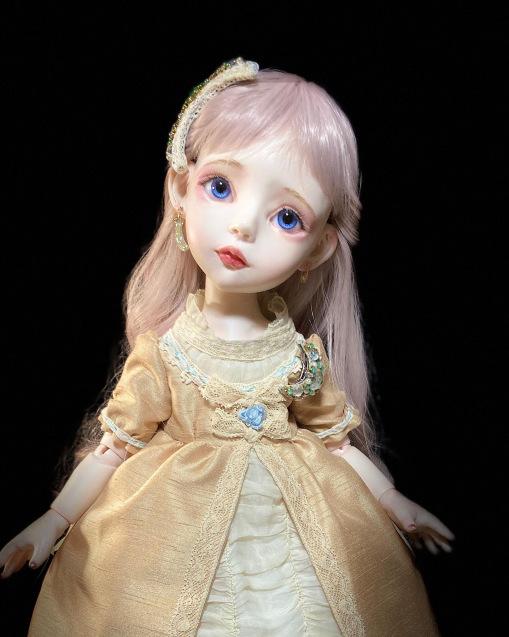 月姫ちゃんのアクセサリーとコート制作♪_b0162357_09535449.jpeg