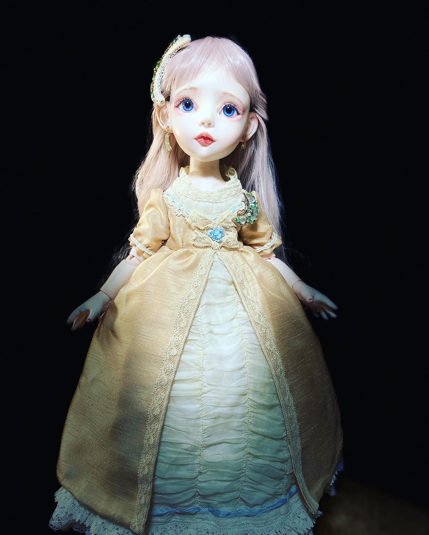 月姫ちゃんのアクセサリーとコート制作♪_b0162357_09541609.jpeg